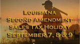 2012 Louisiana Second Amendment Weekend Sales Tax Holiday - 2012 Louisiana Second Amendment Weekend Sales Tax Holiday